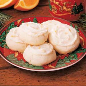 Orange Macadamia Nut Cookies Recipe