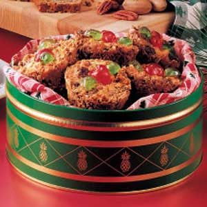 Miniature Fruitcakes Recipe
