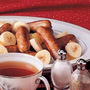 Hot Fruit and Sausage Recipe