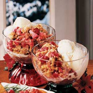 Favorite Cran-Apple Crisp Recipe