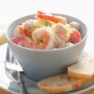 Company Seafood Pasta Recipe