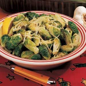 Lemon Garlic Sprouts Recipe