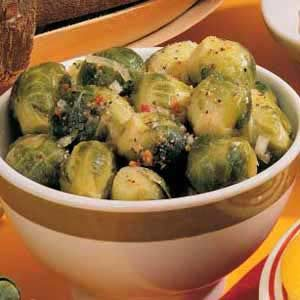 Marinated Brussels Sprouts Recipe