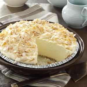 No-Cook Coconut Pie