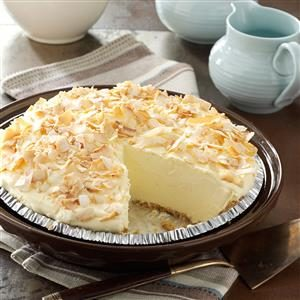 Watch Us Make: No-Cook Coconut Pie
