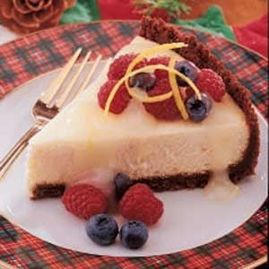 Tangy Lemon Cheesecake