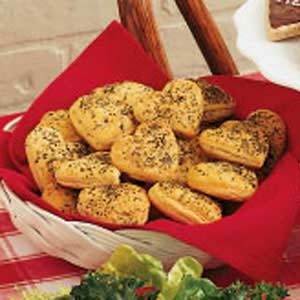 Heart-Shaped Herbed Rolls Recipe