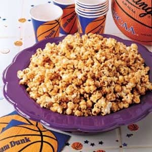 Courtside Caramel Corn Recipe