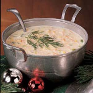 Northwest Salmon Chowder Recipe