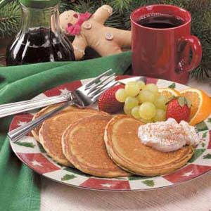 Gingerbread Pancakes Recipe