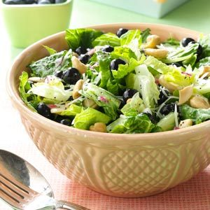 Blueberry Romaine Salad Recipe