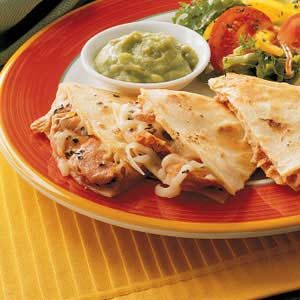 Salmon Quesadillas