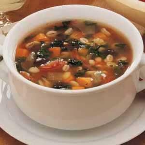 Vegetable Bean Soup Recipe