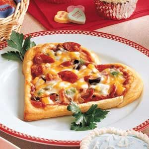 Heart's Desire Pizza Recipe