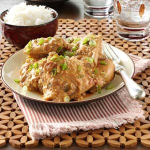 Thai Chicken Thighs Recipe