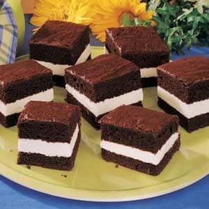 Chocolate Creme Cakes Recipe