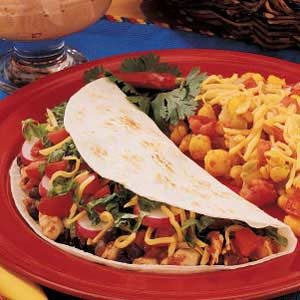 Soft Chicken Tacos Recipe