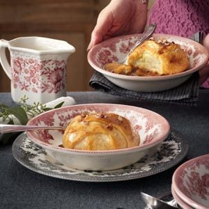 Cinnamon-Pecan Apple Dumplings Recipe