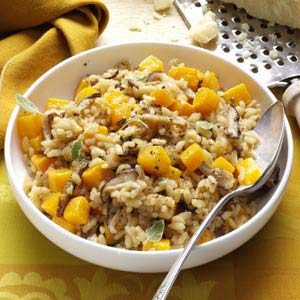 Shiitake & Butternut Risotto Recipe