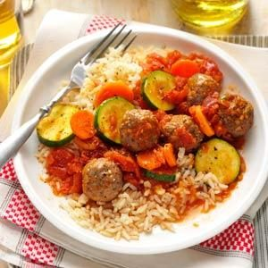 Meatball Skillet Meal Recipe