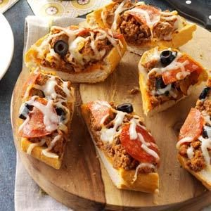 Grilled Pizza Bread Recipe
