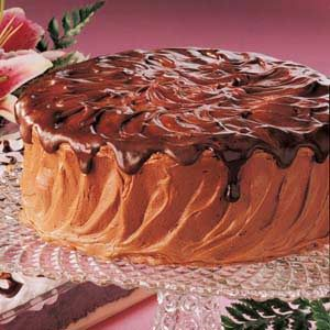 Mocha Layer Cake Recipe