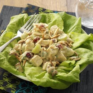 Chicken & Chutney Salad Recipe