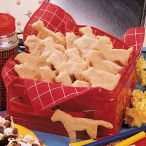 Oatmeal Animal Crackers Recipe
