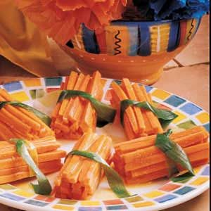 Citrus Carrot Sticks Recipe