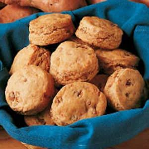 Nutty Sweet Potato Biscuits Recipe