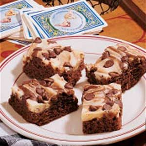Marbled Chocolate Cheesecake Bars Recipe