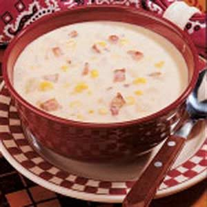 Bacon Corn Soup Recipe