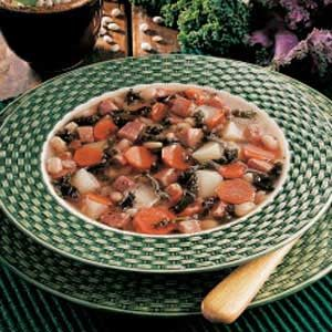 Provencal Bean Soup Recipe