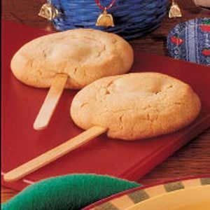 Peanut Butter Cookie Pops Recipe