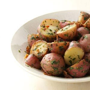 Herbed Garlic Potatoes Recipe