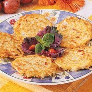 Bacon Potato Pancakes Recipe