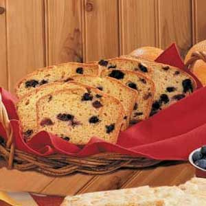 Blueberry Orange Bread Recipe