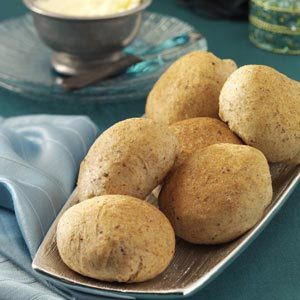 Tender Whole Wheat Rolls Recipe
