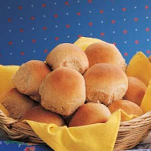 Whole Wheat Rolls Recipe