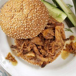 Sweet & Tangy Pulled Pork Recipe