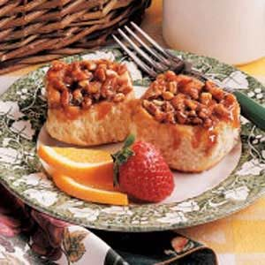 Honey Nut Sticky Buns Recipe