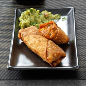 Chili-Cheese Egg Rolls Recipe