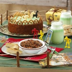 Cowpoke Corral Birthday Cake Recipe