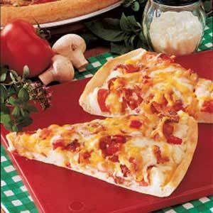 Pleasing Potato Pizza