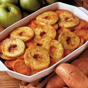 Sweet Potatoes with Apples Recipe