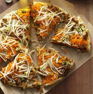 Chicken Thai Pizza Recipe