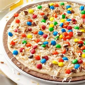 Frosted Brownie Pizza Recipe