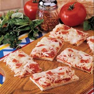 Pepperoni Pan Pizza Recipe