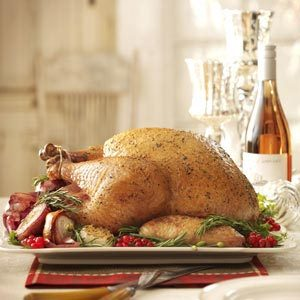 Rosemary Roasted Turkey Recipe