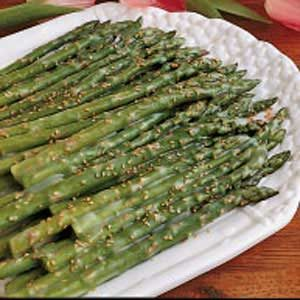 Asparagus with Sesame Butter Recipe